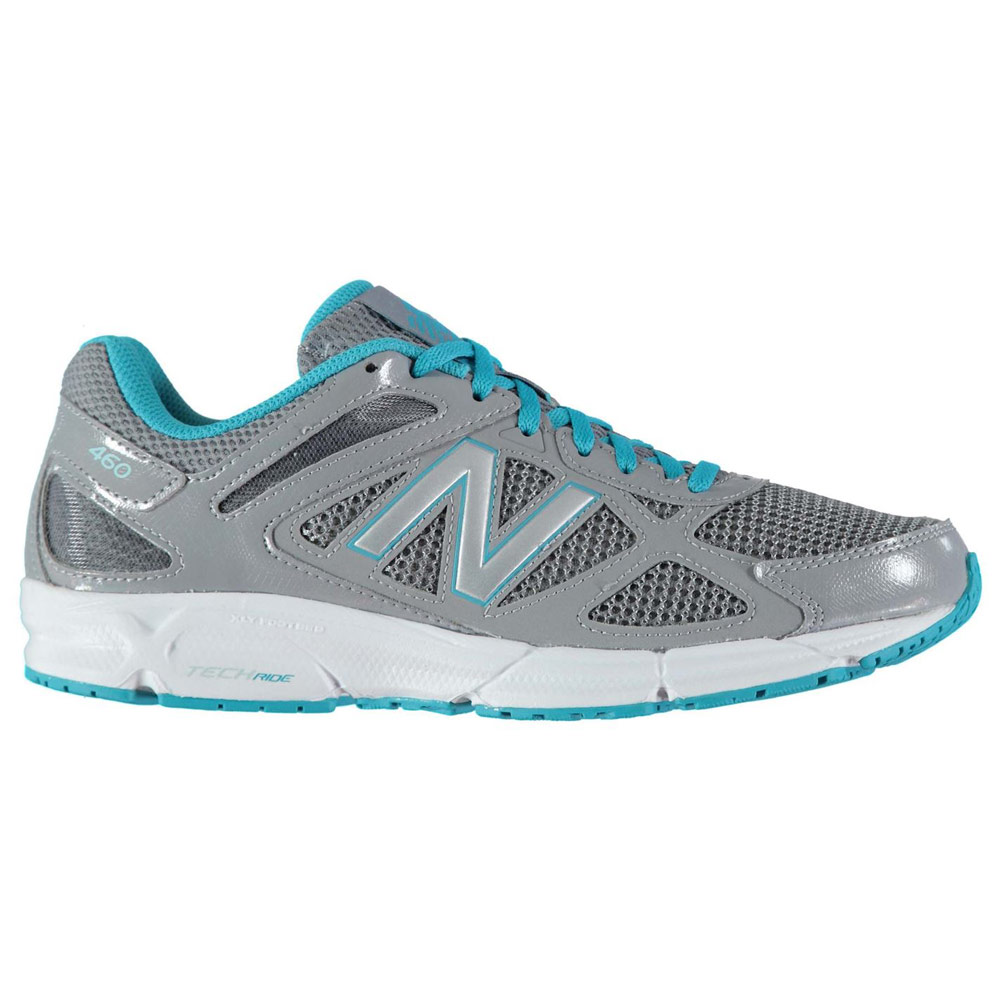 뉴발란스 여성 W460v1 런닝화 그레이/블루(New Balance W460v1 Ladies Running Shoes Grey/Blue)