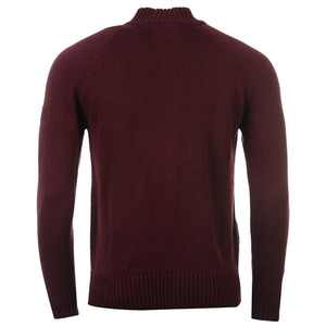 파이어트랩 버튼 니트 가디건 버건디 (Firetrap Button Through Knitted Cardigan Burgundy)