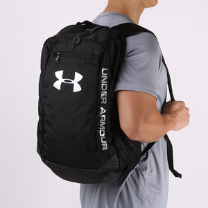 언더아머 허슬 백팩 블랙(Under Armour Hustle Backpack Black)