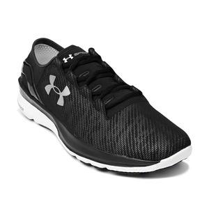 언더아머 남성 스피드폼 튜블런스 리플렉티브 런닝 슈즈 블랙(Under Armour SpeedForm Turbulence Reflective Running Shoes Mens Black)