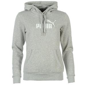 퓨마 여성 넘버원 로고 후디 그레이(Puma No1 Logo Ladies Hoody Grey)