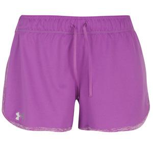 언더아머 여성 테크 쇼츠 퍼플(Under Armour Tech Shorts Womens Purple)