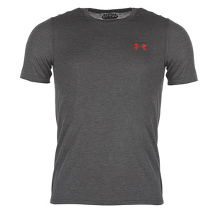 언더아머 남성 쓰리본 핏 티 블랙(Under Armour Threadborne Fitted Tee Mens black)