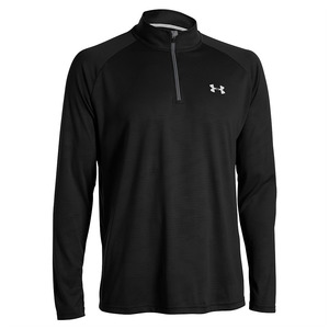 언더아머 남성 테크 1/4 집 롱슬리브 블랙(Under Armour Technical Quarter Zip Long Sleeves black)
