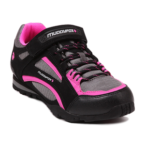 머디폭스 여성 TOUR100 LOW 블랙/차콜/핑크(MUDDYFOX TOUR100 LOW LADY BLACK/CHAR/PINK)