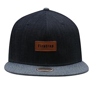 파이어트랩 스냅백 캡 네이비/샴브레이 (Firetrap Snap Back Cap Navy/Chambray)
